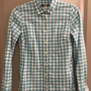"""Jcrew """"The Perfect Shirt"""" Size 00"""
